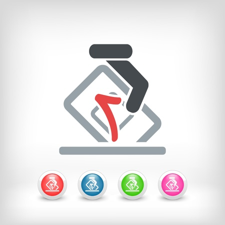 Vote concept icon Stock Vector - 20084315