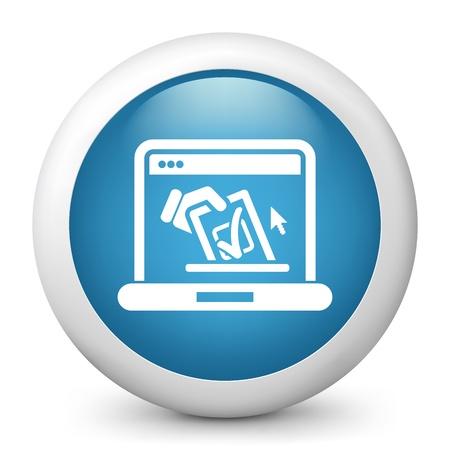 electors: Vote web concept