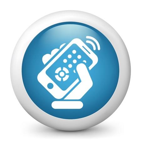 Smartphone remote control Stock Vector - 20084236