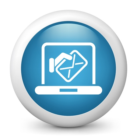 Computer mail icon Stock Vector - 20084204