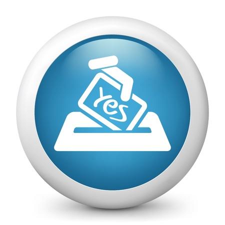 Vote concept icon Stock Vector - 20084238