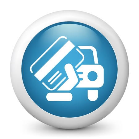 licence: Car document icon