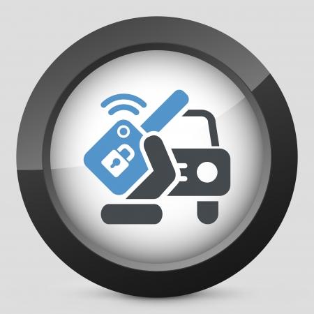 Car remote key Stock Vector - 20084272