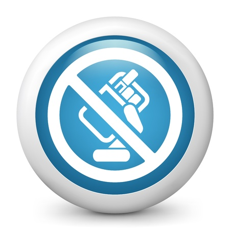 Forbidden smoke icon Vector