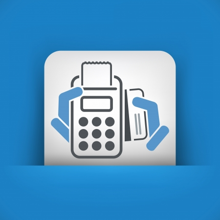 Payment card icon Vector