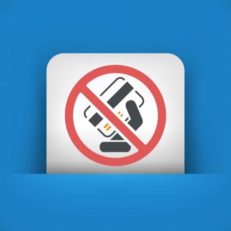 excluded: Forbidden credit card Illustration