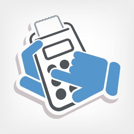 numerator: Calculator icon