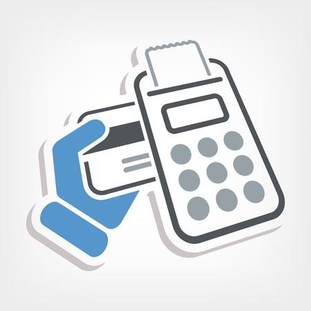 Credit card payment Illustration
