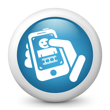 Video phone Vector