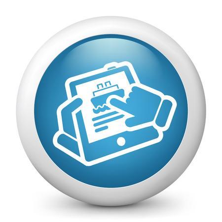 Navy web booking Stock Vector - 22738499