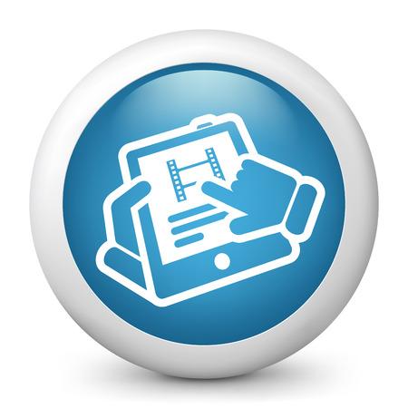 Video tablet Stock Vector - 22738198