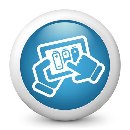 Battery level tablet Stock Vector - 22745152