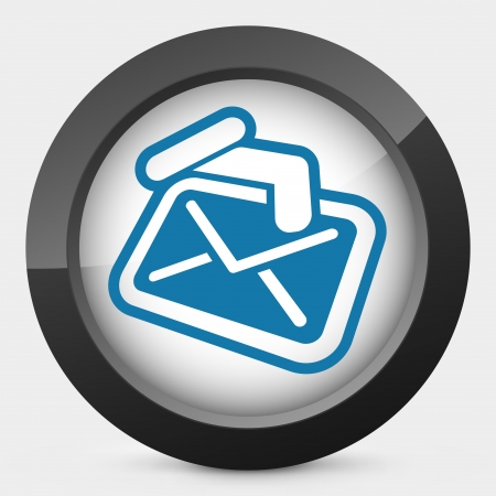 Mail holding icon