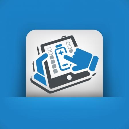 Tablet power Stock Vector - 22745305