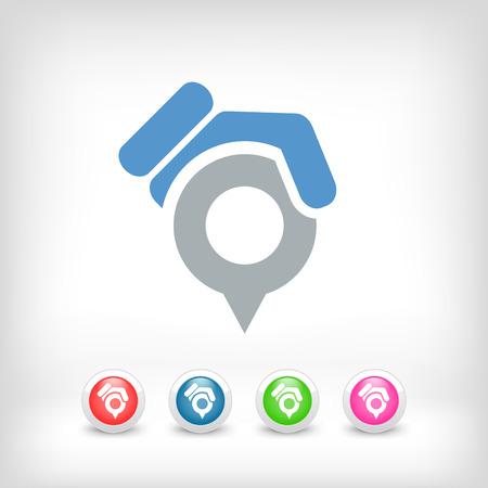 Position pointer icon