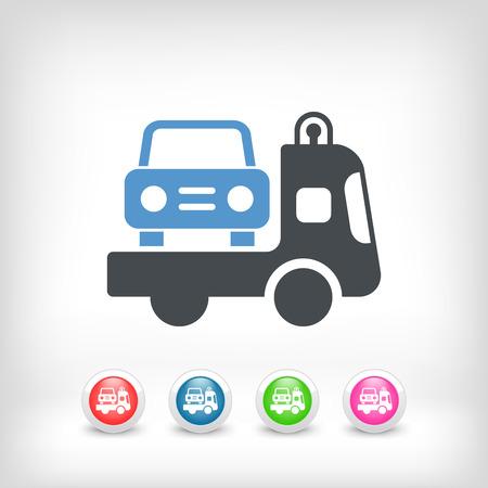 breakdown truck: Wrecker icon
