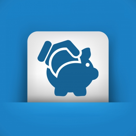inserting: Business coin icon