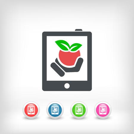 Farm website icon Stock Vector - 22762240