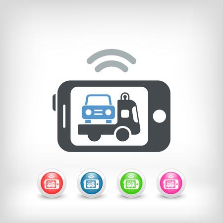 breakdown truck: Mobile car assistance