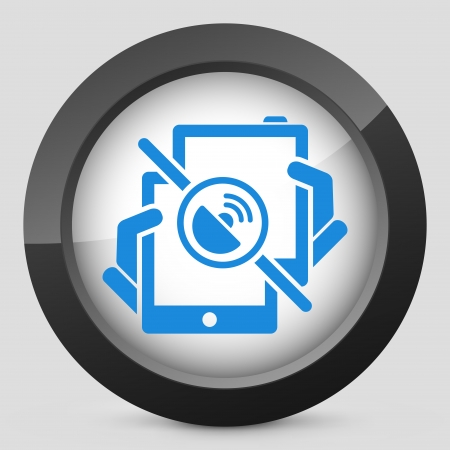 Mobile connection icon Vector