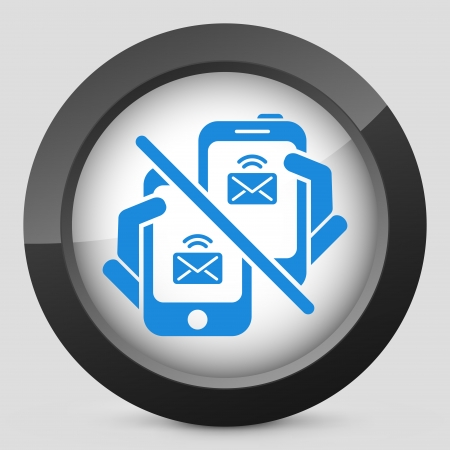Web message icon Stock Vector - 22762968
