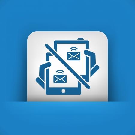 Web message icon Stock Vector - 22783480