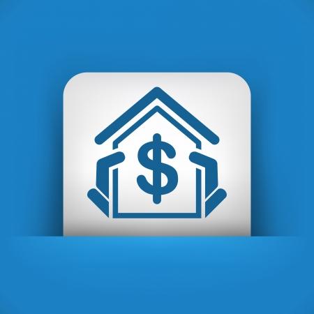 Real estate icon Stock Vector - 22783487