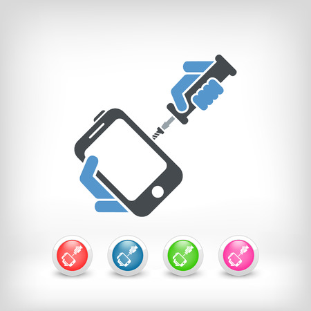 smartphone icon: Smartphone repair