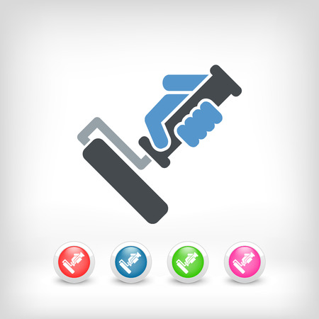 Painter roll icon