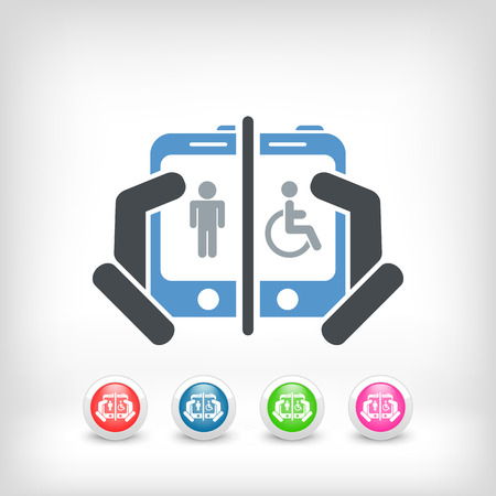 intuitive: Disabled social network