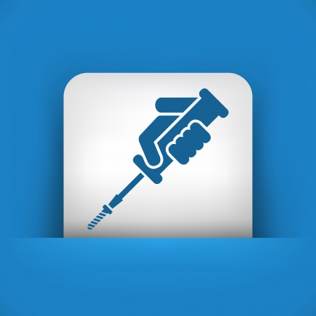 Screwdriver icon Stock Vector - 22789283