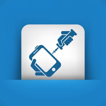Smartphone repair Vector