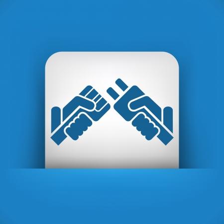 Plug concept icon