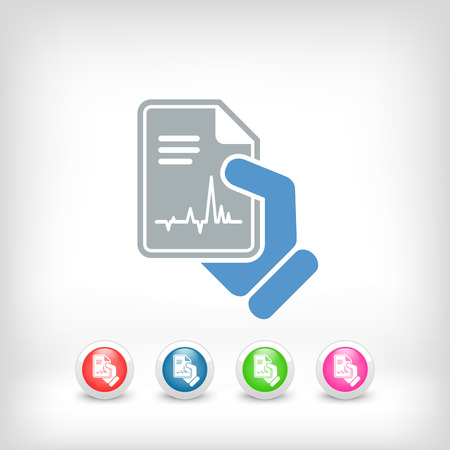 diagnosing: Medical diagnosis Illustration