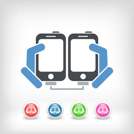 Smartphone files sharing