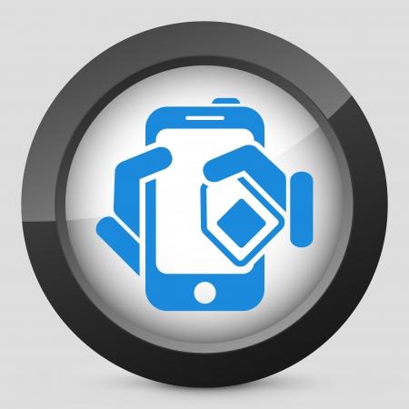 Phone card icon