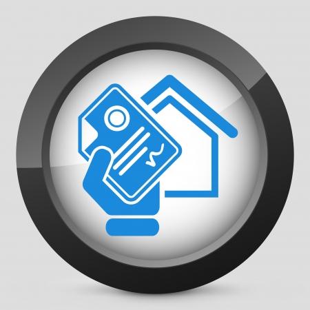 Home document icon Vector