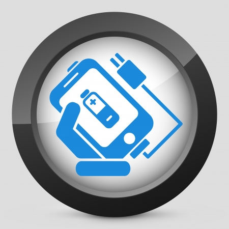 Phone Charge Icon Royalty Free Cliparts, Vectors, And Stock ...