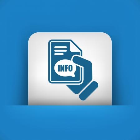 informer: Info button icon