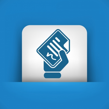 ratificaci�n: Documento firmado icono
