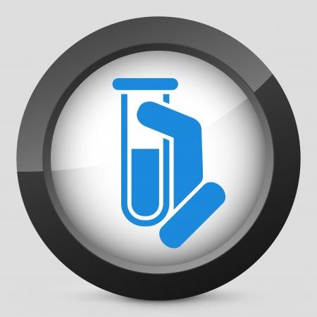 sampling: Test tube icon