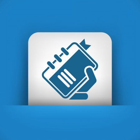 Book icon Stock Vector - 23428831