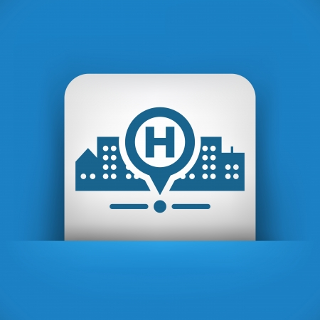 malady: Hospital location Illustration
