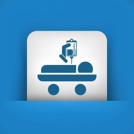 iv: Hospital stretcher