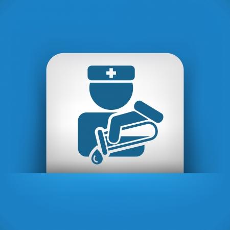 Medical Test tube Illustration
