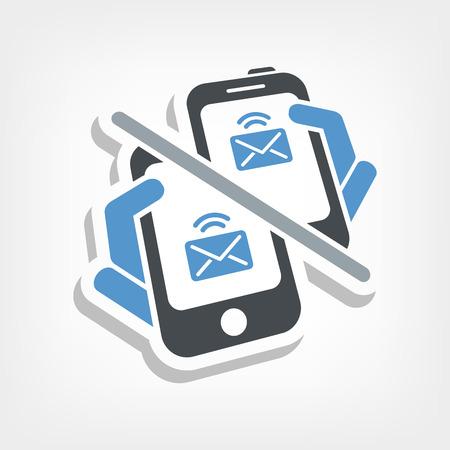 sender: Web message icon Illustration