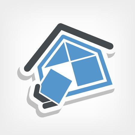 construction firm: Construction company symbol