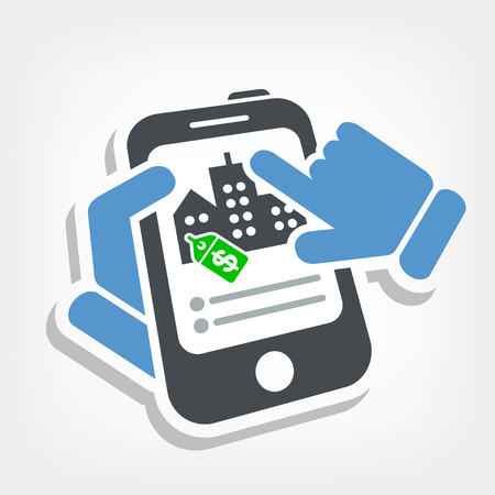 Real estate website Vector