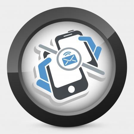 Message sending icon Stock Vector - 25186010
