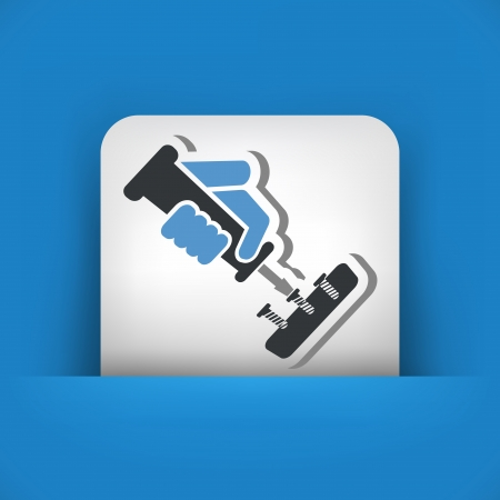 bricolage: Screwdriver icon Illustration